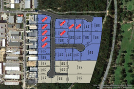 Industrial Land Now Selling - Construction Commenced
