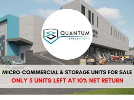 Industrial & Storage Units For Sale - Leased At  10% Net Return