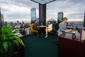 Modern 2-person Office With Great Views Of Melbourne