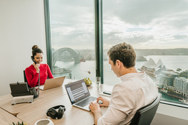 Private 2-person Office With Outstanding Views Over Sydney\'s Skyline