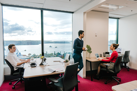 Private 3-person Office With Views Boasting Over Sydney\'s Skyline