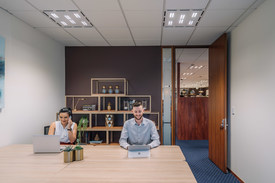Modern 2-person office located in the heart of Hobart's Central Business District.
