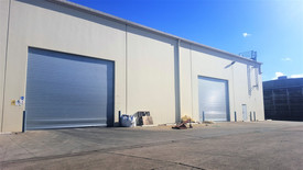 Clearspan Warehouse With Container Height Access