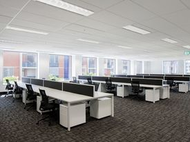 Open Plan Office Suite In Pyrmont - Available Now !