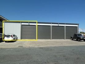 Industrial Shed 192 M2 In Gated Complex In Town