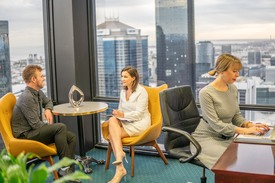 A-grade furnished private workspace for 1 people in the centre of Melbourne's financial and legal district