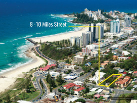 Kirra Beachside Single Residential Home-sites Or Development Site
