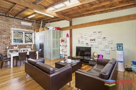 Office Space With Natural Light & Parking Space !!