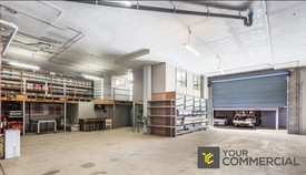 Warehouse With Parking Available Now