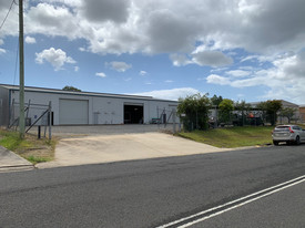 High Clearance Industrial Building With Surplus Land
