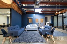 Stylish dcor  Cool space  Creative working environment