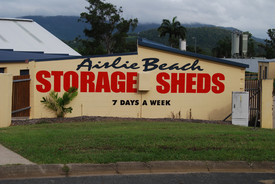 INVESTMENT OPPORTUNITY - TWO STORAGE SHEDS ONE 1 TITLE