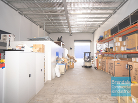 250m2 INDUSTRIAL UNIT WITH OFFICE