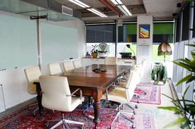 Free meeting rooms  Fitted and furnished  Cool space