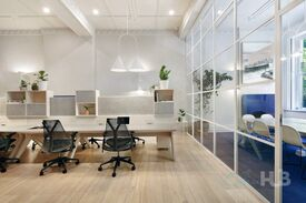 Stylish dcor  Convenient location  Contemporary office space