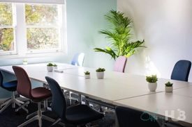 Creative co-working hub  Buzzy workspace  Fitted and furnished