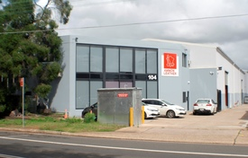 Street Frontage - Two Level Office Available