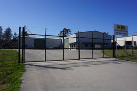 Large Industrial Buildings With Office
