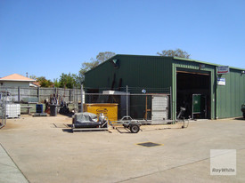 Industrial Unit With Fenced Hardstand On Morayfield Road