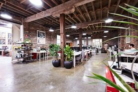 Abundance of natural light  Great location  Inspiring creative space