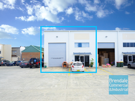 180m2 Industrial Unit With Office