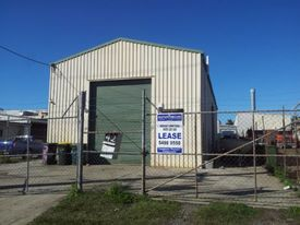 Free Standing Industrial Shed- Concrete Hardstand- Fully Fenced