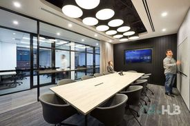 Collaborative space  Abundance of natural light  Quality furnishings