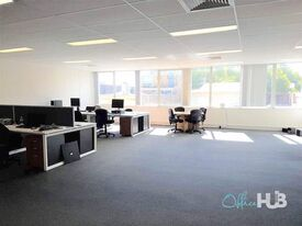 Brightly lit  Fitted and furnished  Economical workspace